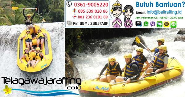 Harga Tiket Telaga Waja Rafting saat Lebaran 2015