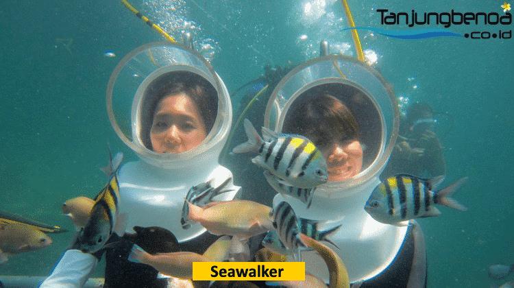 Seawalker di Tanjung Benoa