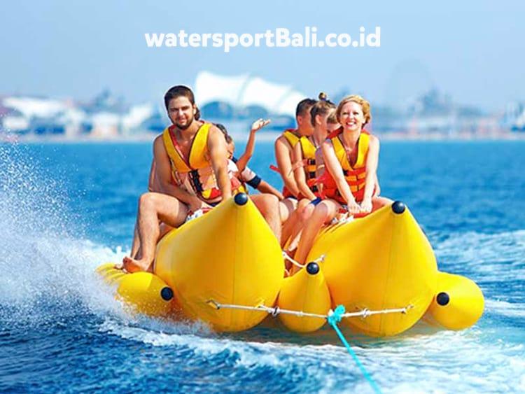 Banana Boat di Bali